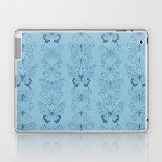 Butterfly Blues Laptop & iPad Skin