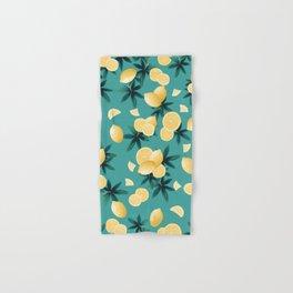 Lemon Twist Vibes #6 #tropical #fruit #decor #art #society6 Hand & Bath Towel
