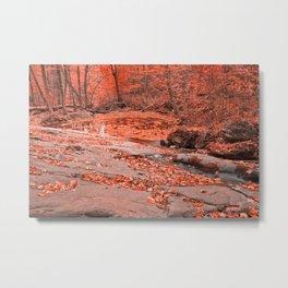 Ruby Hollow Whirlpool Metal Print