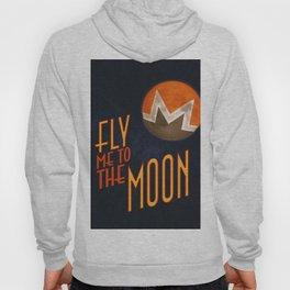 Monero to the Moon Hoody