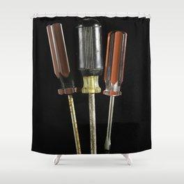 Trio of Screwdrivers Shower Curtain