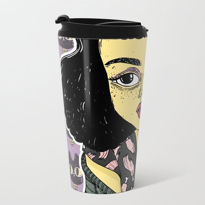 BETTIE Metal Travel Mug