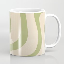 Abstract Minimal Pattern, Retro, Chic  Coffee Mug