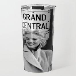 Marilyn#Monroe, Grand Central Station Poster Litho Vintage American Icon Image Travel Mug