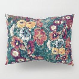 Summer Garden Orange Pillow Sham