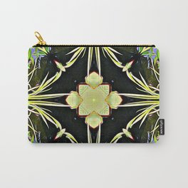 Diamond Centered Patience Carry-All Pouch
