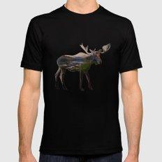 The Alaskan Bull Moose Black MEDIUM Mens Fitted Tee