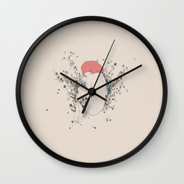 In A Mother Out A Moth Wall Clock