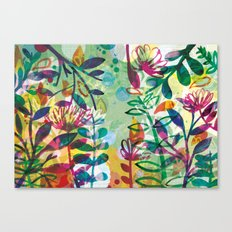 Bloom like a Flower Canvas Print