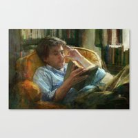 literature Canvas Prints featuring Literature by John Pacer