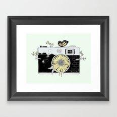 Captured Life Framed Art Print