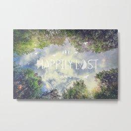Happily Lost II Metal Print