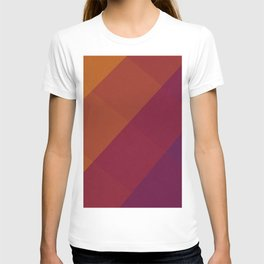 Square Abstract Gradient Art T-shirt