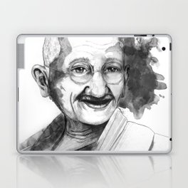 Will & Strength (Ghandi) by carographic Laptop & iPad Skin