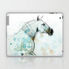 Horse (Lusitano Blue) Laptop & iPad Skin