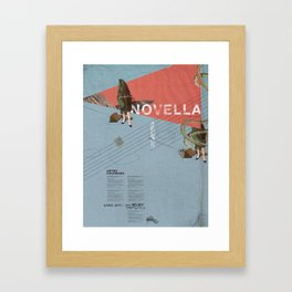 Novella- Mixed media Framed Art Print