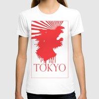 "tokyo T-shirts featuring ""Tokyo"" by ICECREAM ROBOT"