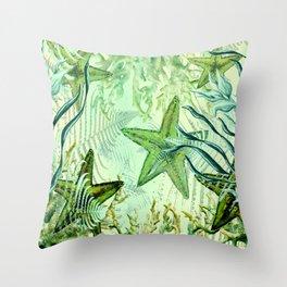 sea stars Throw Pillow