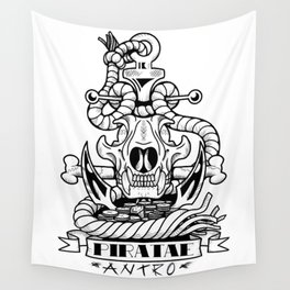 Sigil of the Anthro Pirate Wall Tapestry