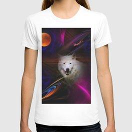 Full moon - Blood moon  fascination wolf T-shirt