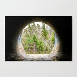 Mercer Underpass Canvas Print