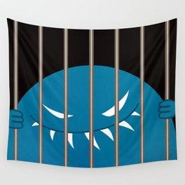 Evil Monster Kingpin Jailed v2 Wall Tapestry