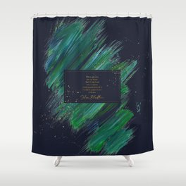 These pictures are my heart... Julian Blackthorn Shower Curtain