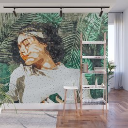Rest #painting #tropical Wall Mural