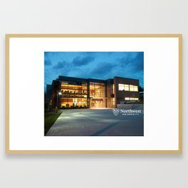 Argue HSC at Night Framed Art Print