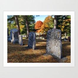 Pet Cemetery Art Print