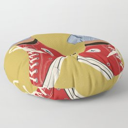 Red Converse Sweet Kicks Floor Pillow