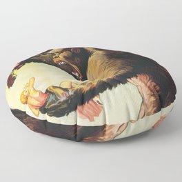 King Kong 1933 Floor Pillow