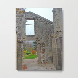 Chateau De Fere, French Castle Ruins Metal Print