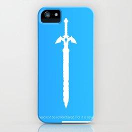 Darkness Sealing Sword - Legend of Zelda iPhone Case