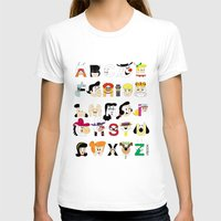 60s T-shirts featuring Child of the 60s Alphabet by Mike Boon
