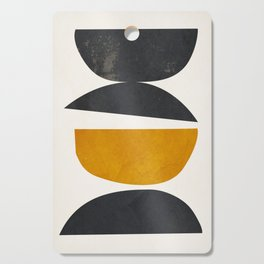 abstract minimal 23 Cutting Board