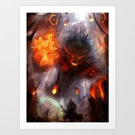 To Hunt Gods Art Print