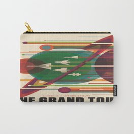 The Grand Tour : Vintage Space Poster Carry-All Pouch