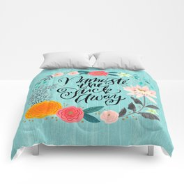 Pretty Swe*ry 2.0: Namaste the Fuck Away Comforters