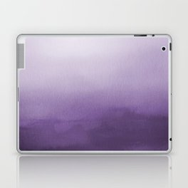 Inspired by Pantone Chive Blossom Purple 18-3634 Watercolor Abstract Art Laptop & iPad Skin