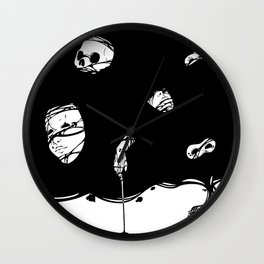Tinta Negra Wall Clock