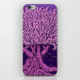 ombo pink tree of life iPhone Skin