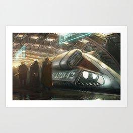 Prisoner Transport Art Print