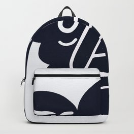 happy face Backpack