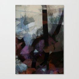 disquiet twenty four (i overcome) Canvas Print