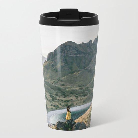 Yellow Moutain Metal Travel Mug
