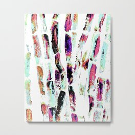 Rainbow Candy Sugar Cane, Spring, First World Problems Metal Print