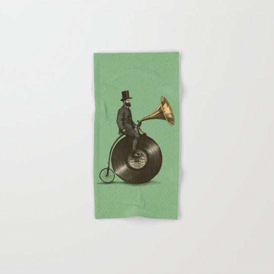 Music Man (Green Option) Hand & Bath Towel