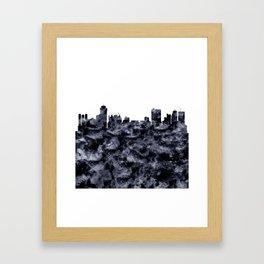 Winnipeg Skyline Alberta Framed Art Print