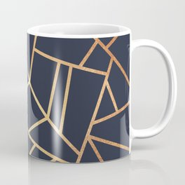Copper and Midnight Navy Coffee Mug